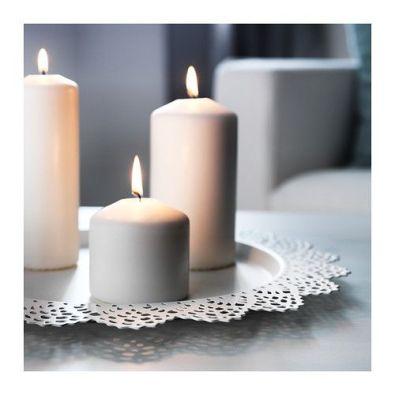 pillar candles, IKEA